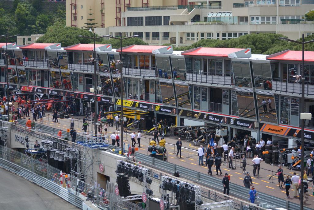 Stand d'écurie - Circuit de Monaco