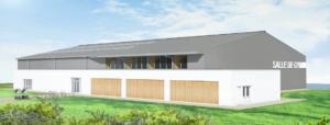Rénovation et extension salle de sport et terrains de tennis à Venansault