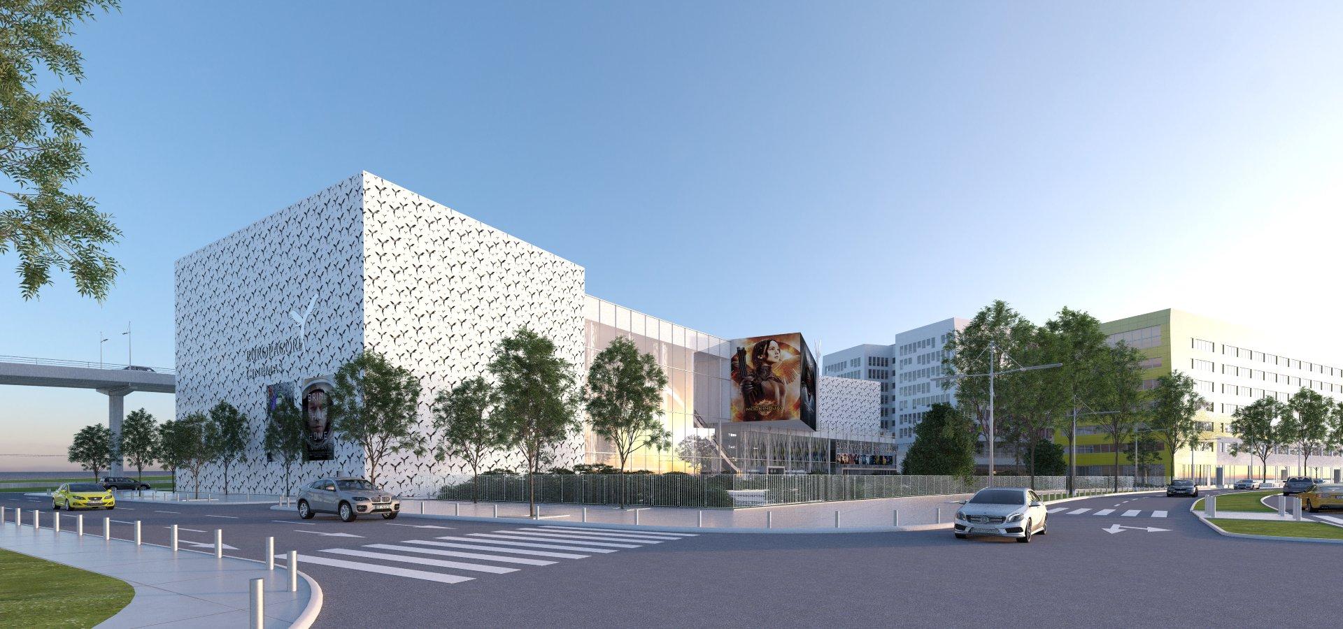 Bureau D Étude Béton Marseille construction du multiplexe europacorp à marseille (13