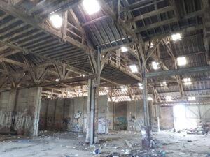 Anciennes halles St Gobain