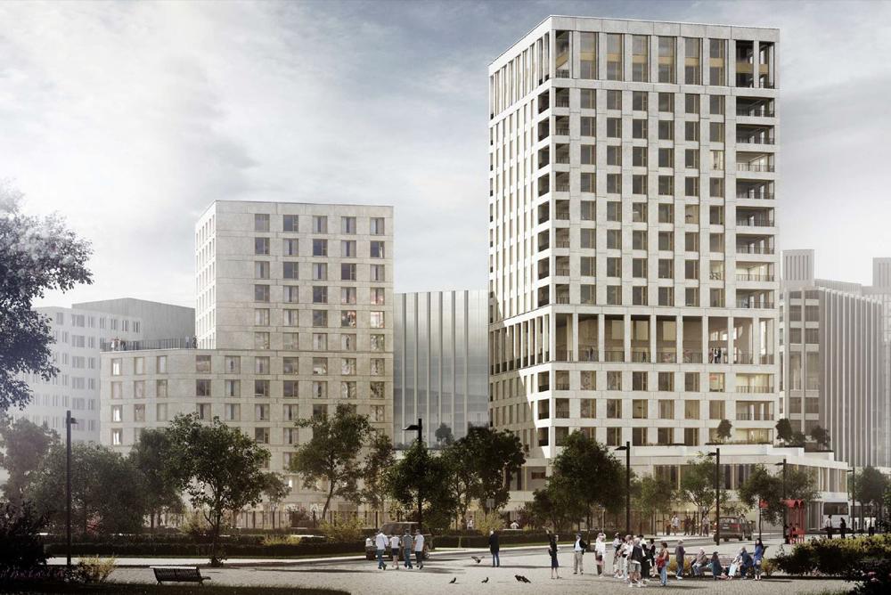 Construction de 265 logements - Tours Soho - Chapelle Internationale- Paris (75)