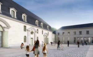 Abbaye Royale de Fontevraud EXE ASCIA Structure© agence 2BDM